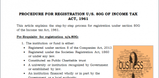 registration under section 12AA
